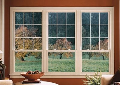 Oriel Style Double Hung Window Replacement and Installation - Savannah Windows & More